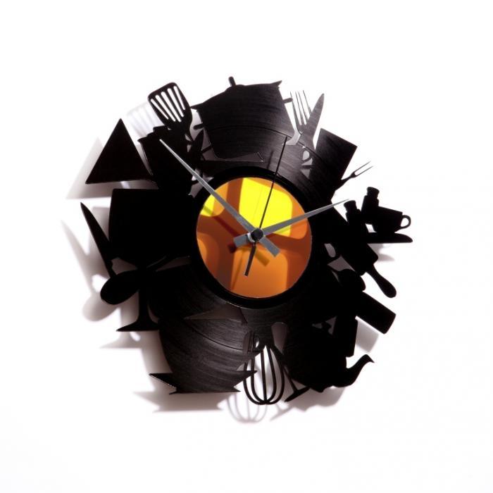 Nástěnné hodiny KITCHEN MADNESS - Discoclock