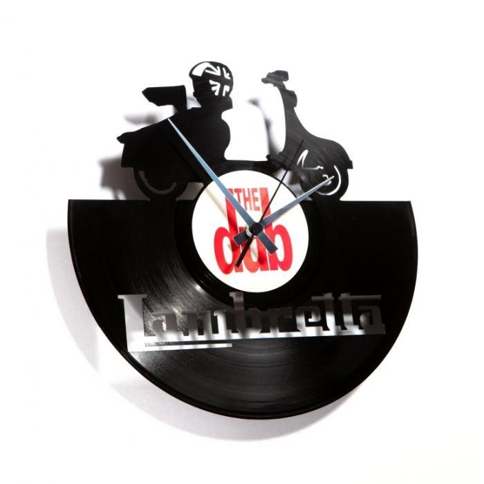 Nástěnné hodiny LAMBRETTA - Discoclock