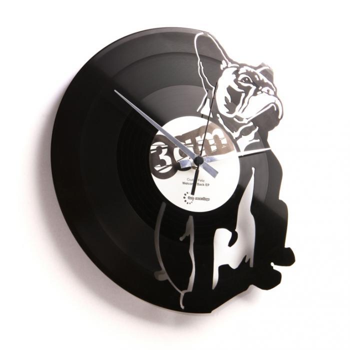 Nástěnné hodiny HUGO - Discoclock