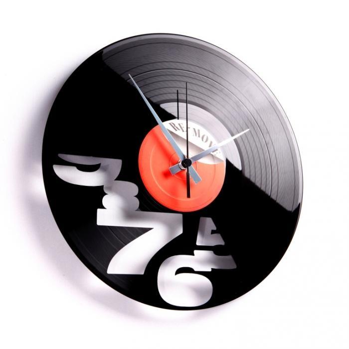 Nástěnné hodiny I´LL NEVER WORK 9 TO 5 AGAIN - Discoclock