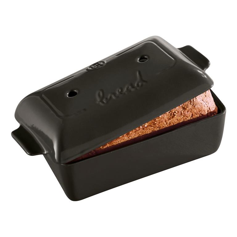 Forma na pečení chleba Charcoal pepřová 24 x 15 cm - Emile Henry
