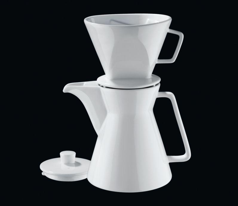 Konvička na kávu Vienna 1L s filtrem - Cilio
