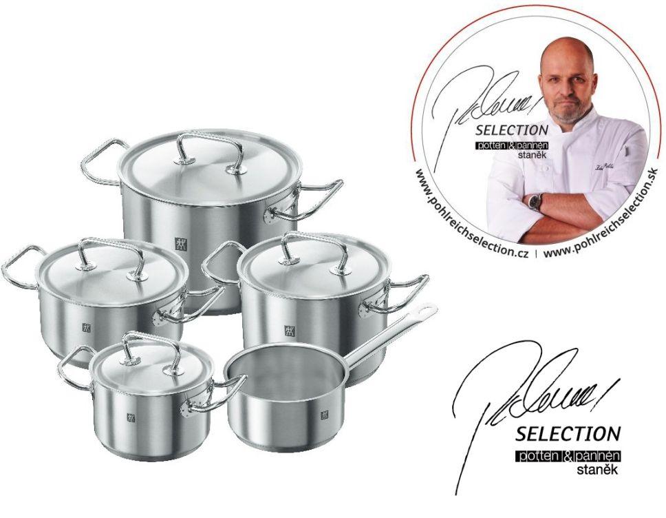 Sada nádobí Twin Classic 5 ks - Pohlreich Selection-ZWILLING J.A. HENCKELS