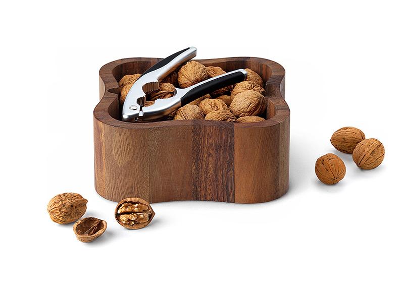 Miska na ořechy s louskáčkem akácie - Continenta