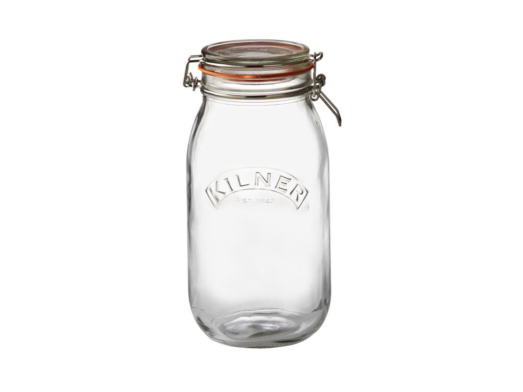 KILNER zavařovací sklenice s klipem 2l kulatá - Kilner
