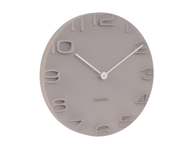 Nástěnné hodiny On The Edge 42 cm šedé - Karlsson