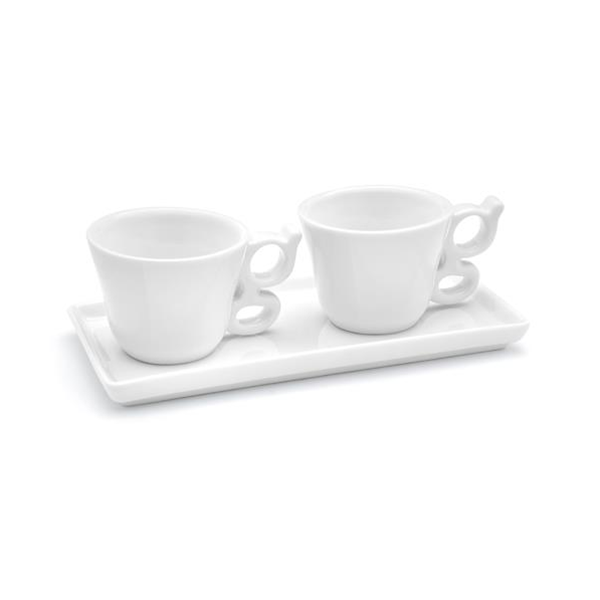 Set káva pro dva G-2x šálek 80ml - Carlo Giannini