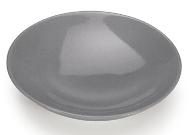 COLOURS Polévkový talíř 6ks šedý - Carlo Giannini