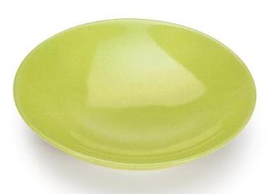 COLOURS Polévkový talíř 6ks Limetkově zelený - Carlo Giannini