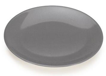 COLOURS Dezertní talíř 6ks šedý - Carlo Giannini