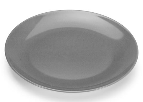 COLOURS Servírovací talíř šedý - Carlo Giannini