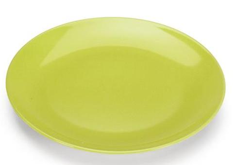 COLOURS Servírovací talíř Limetkově zelený-Carlo Giannini