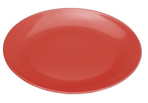 COLOURS Servírovací talíř červený - Carlo Giannini