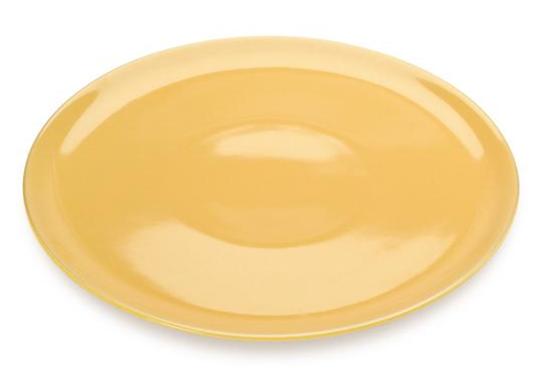 COLOURS Talíř na Pizzu 32 cm žlutý - Carlo Giannini