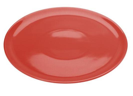 COLOURS Talíř na Pizzu 32 cm červený - Carlo Giannini