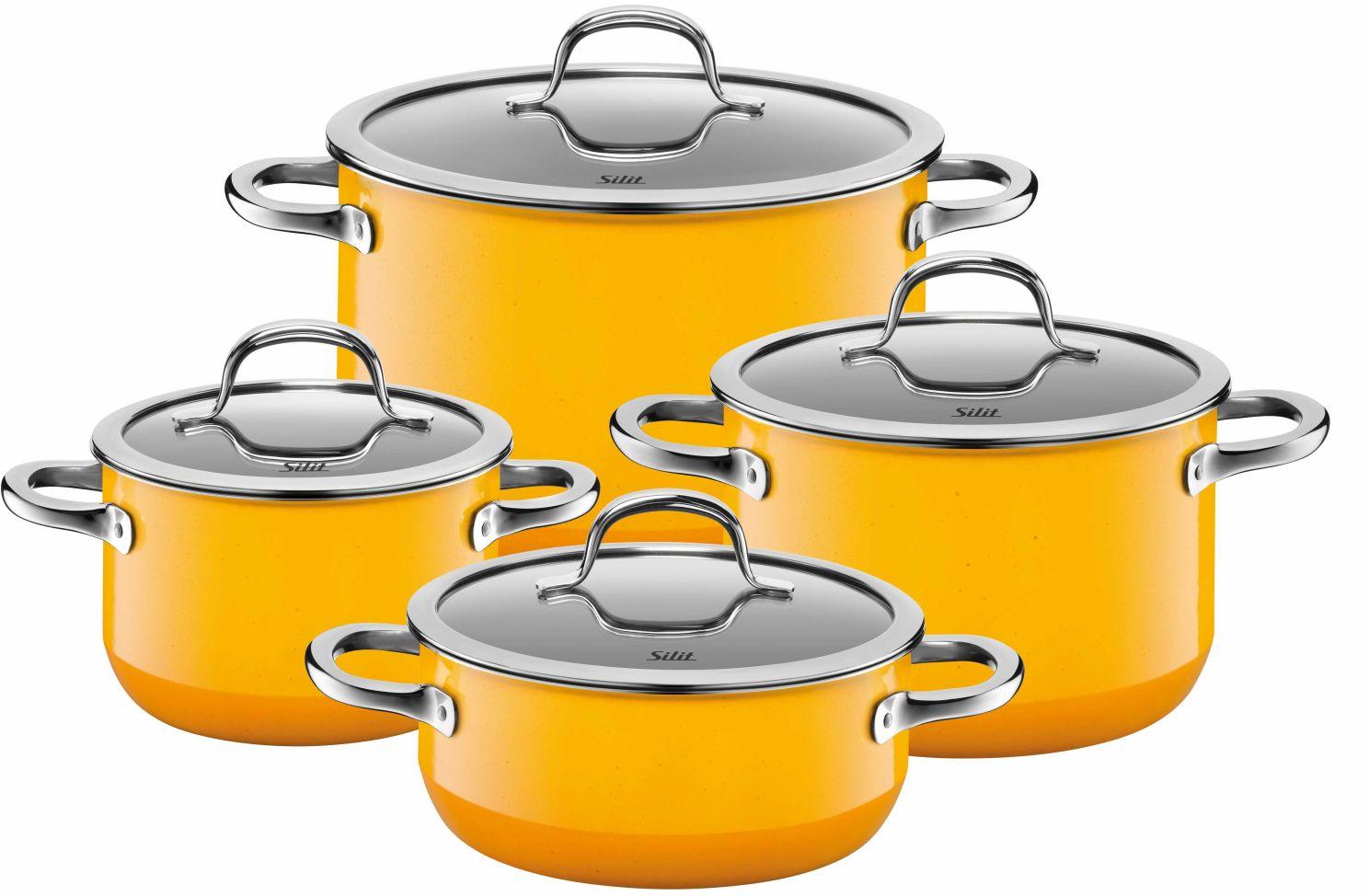 Sada nádobí Passion Colours Yellow 4-díly - Silit