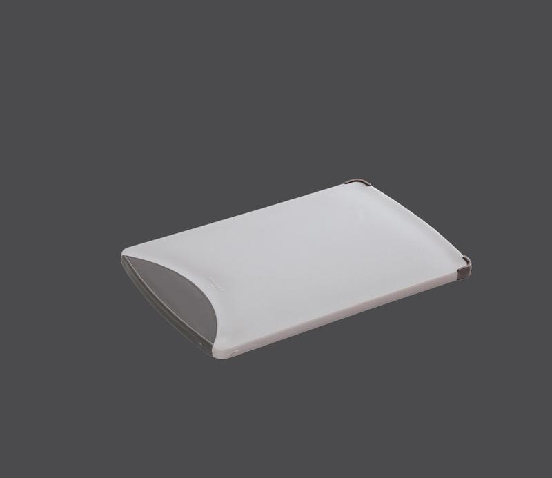 Plastové prkénko 25 x 16 x 0,9 cm, šedé - Zassenhaus