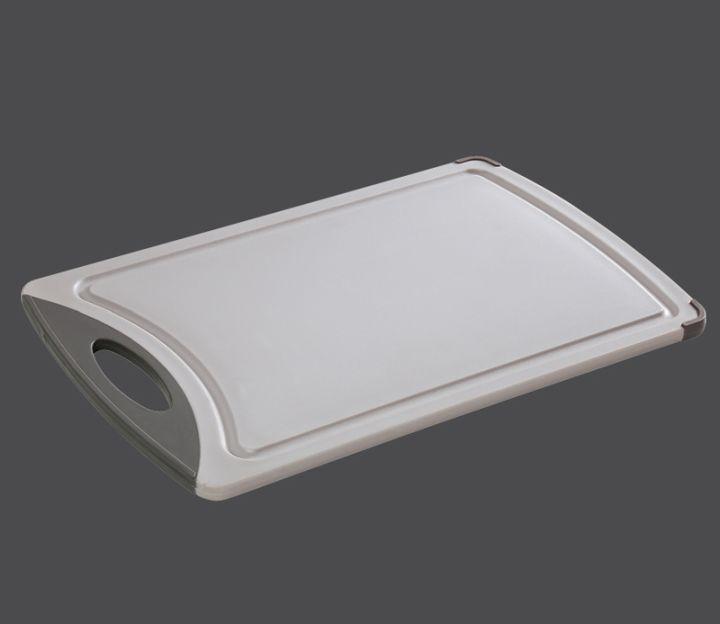 Plastové prkénko 38 x 25 x 1 cm, šedé - Zassenhaus