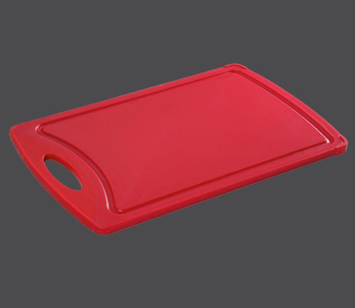 Plastové prkénko 38 x 25 x 1 cm, červené - Zassenhaus