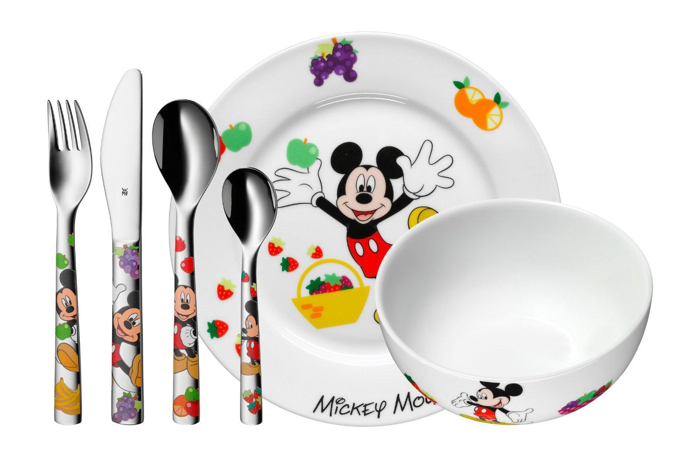 Dětský příbor 6-dílný set Mickey Mouse - WMF