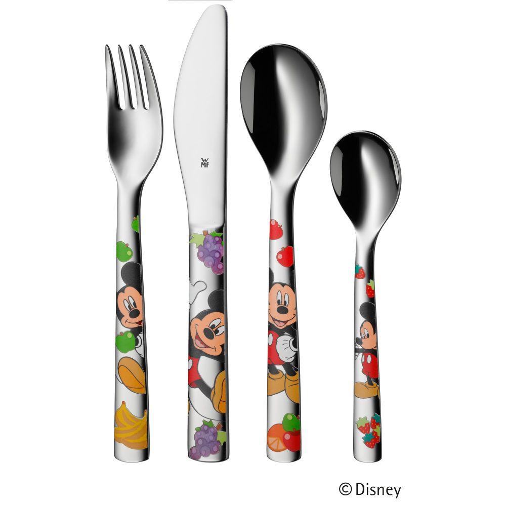 Dětský příbor 4-dílný set Mickey Mouse - WMF