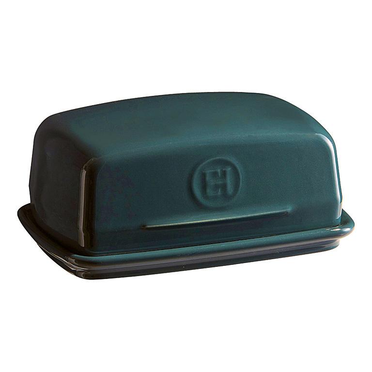Dóza na máslo Blue Flame modrá 16 x 11 cm - Emile Henry
