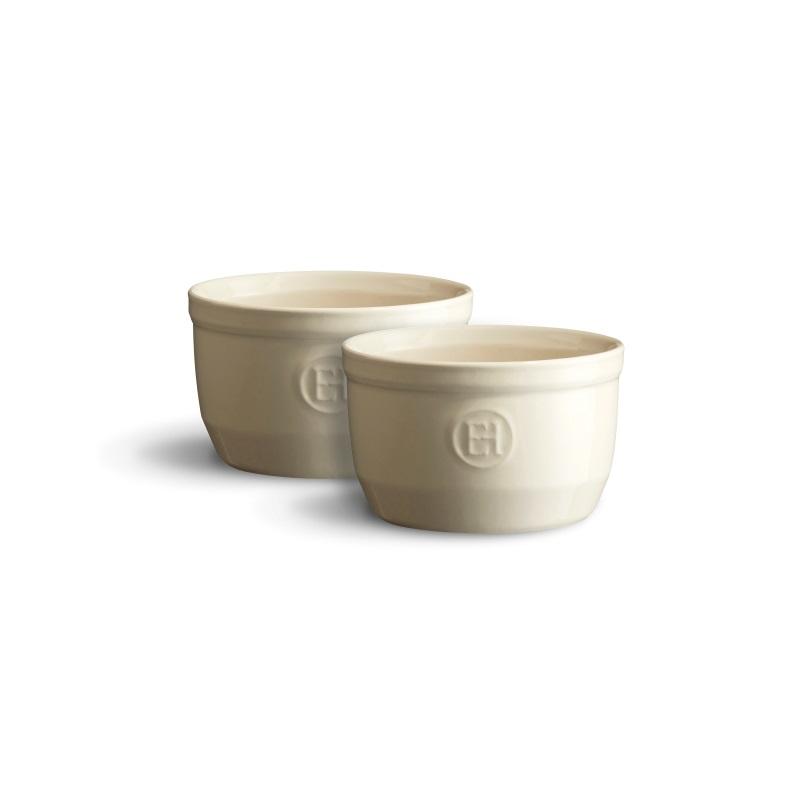 Ramekin Clay krémový 10 cm set 2 ks - Emile Henry