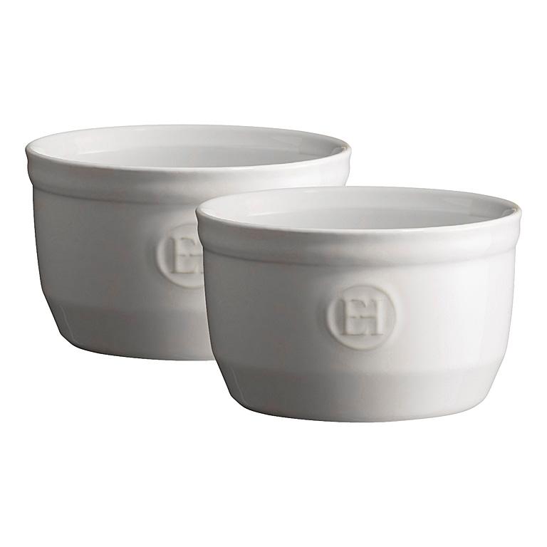Ramekin Flour bílá nugátová 10 cm set 2 ks - Emile Henry
