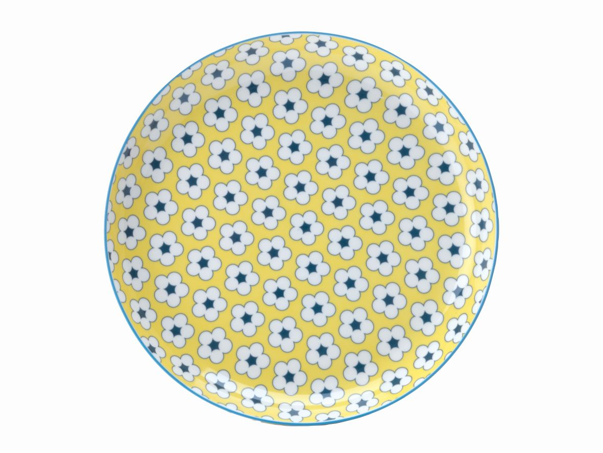 Mělký talíř Cotton Bud 23 cm žlutý - Maxwell&Williams