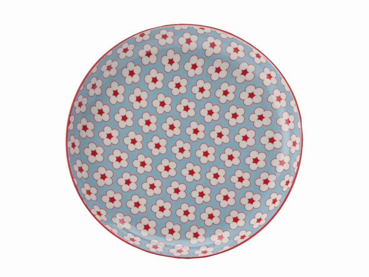 Mělký talíř Cotton Bud 23 cm světle modrý - Maxwell&Williams