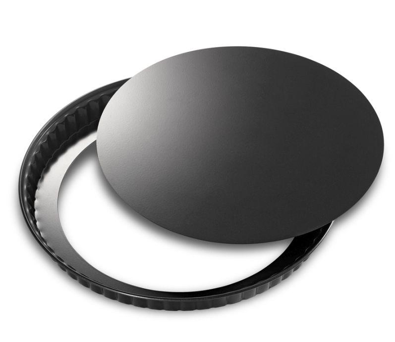 Forma na quiche s odnímatelným dnem 24 cm, černá - Küchenprofi