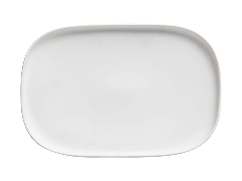 Obdélníkový mělký talíř Elemental 26,5 x 18 cm bílý - Maxwell&Williams