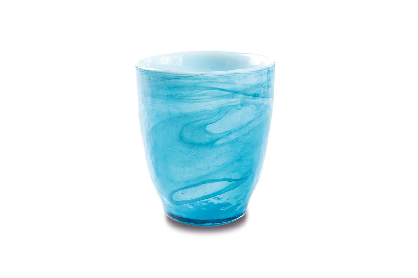 ICE COLOURS Sklenice 280 ml modrá - Carlo Giannini
