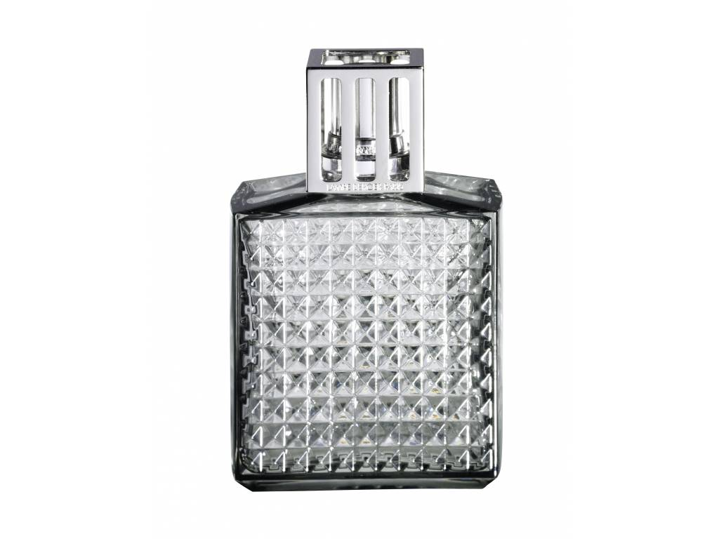 Katalytická lampa Lampe Berger Diamant šedá - Maison Berger Paris