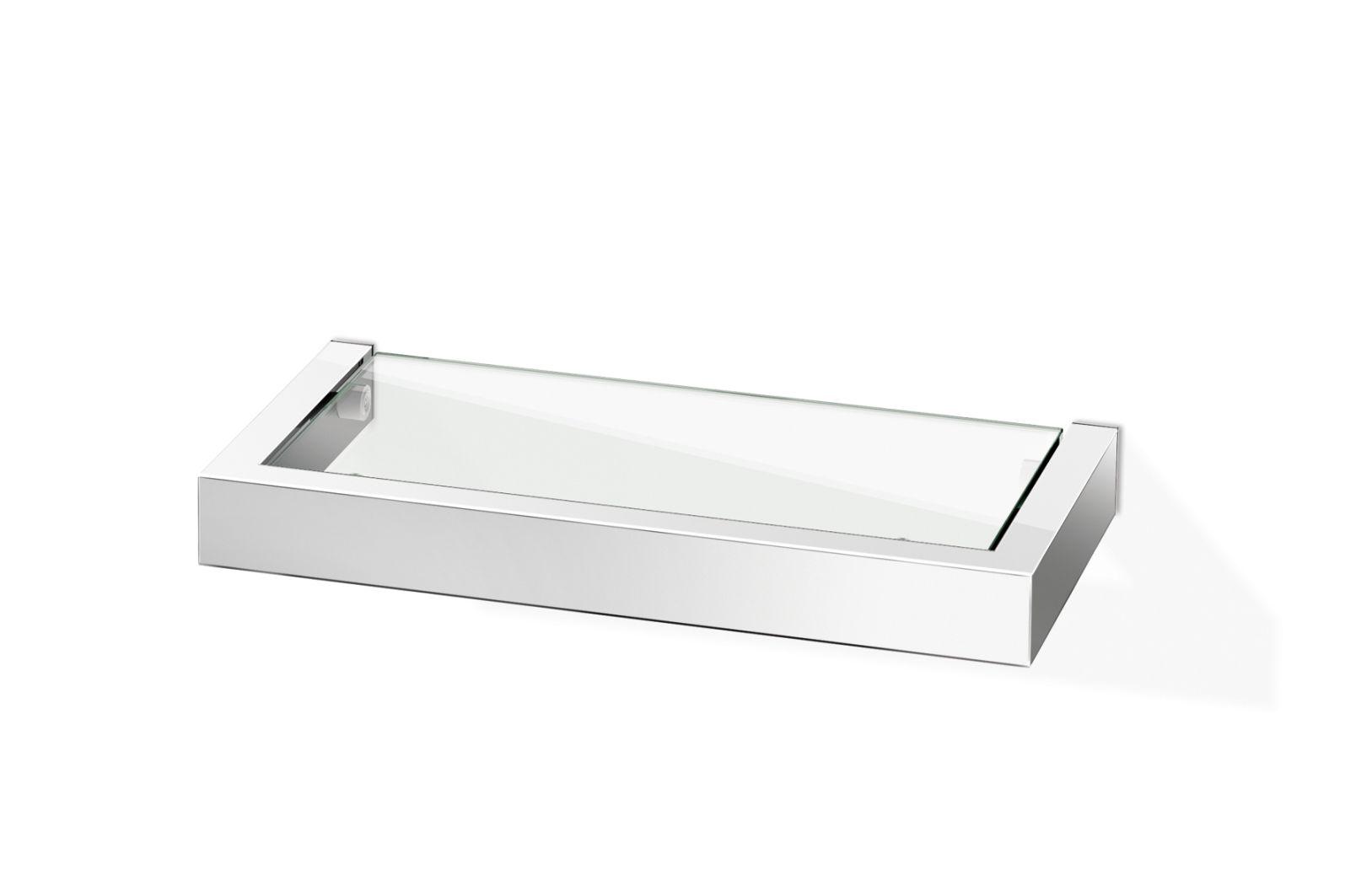 Koupelnová police LINEA, lesklá 26,5 cm - ZACK