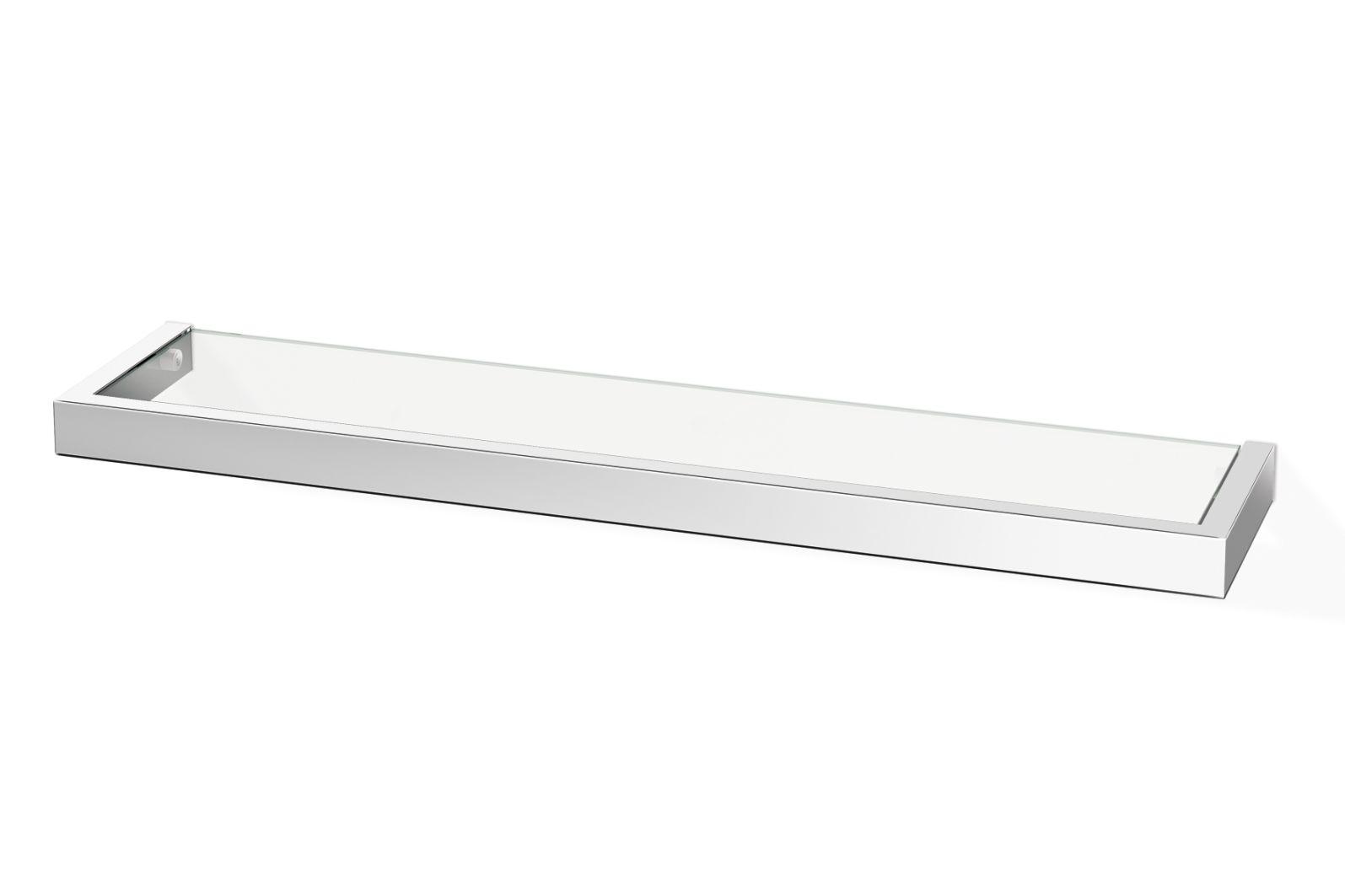 Koupelnová police LINEA, lesklá 61,5 cm - ZACK