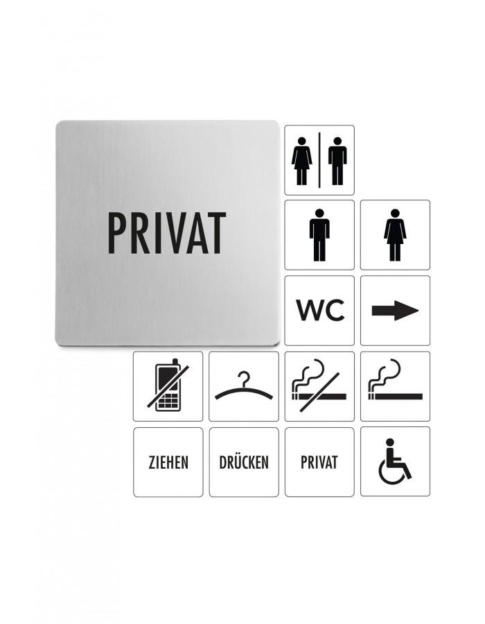 Tabulka s nápisem PRIVAT - ZACK