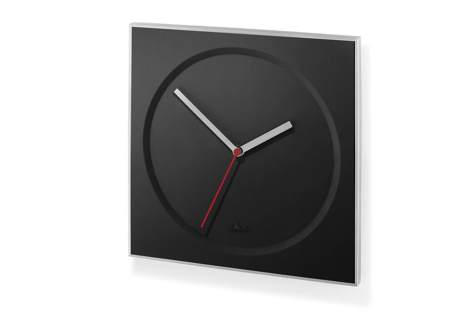 Nástěnné hodiny HOYO, černé - ZACK