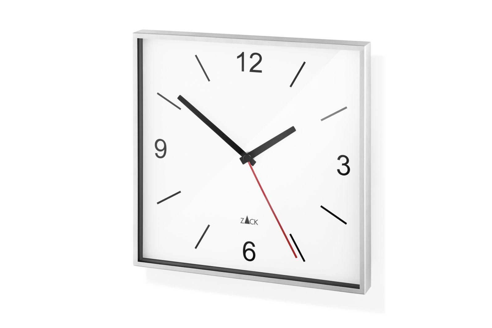 Nástěnné hodiny SILLAR, bílé - ZACK