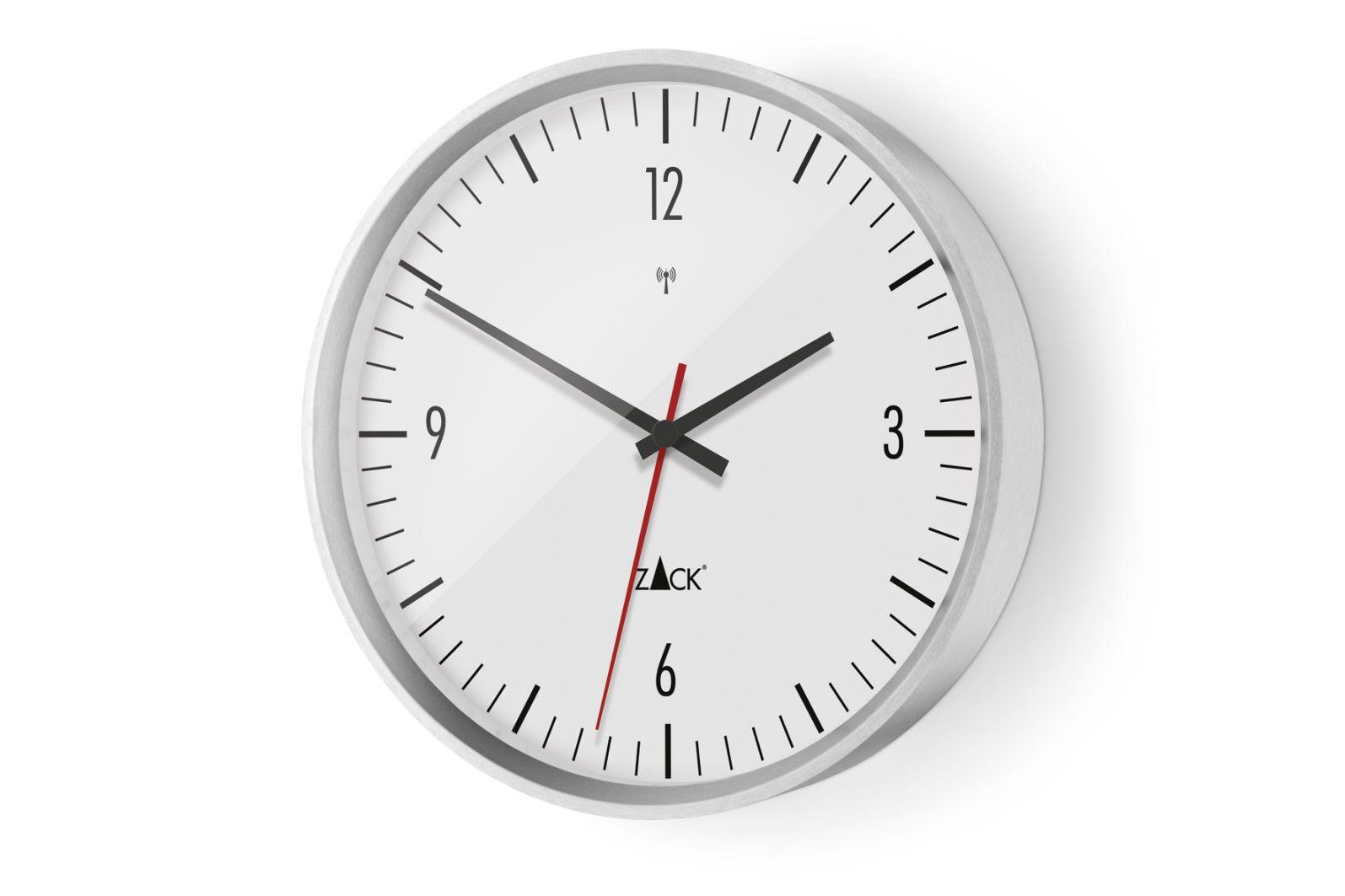 Nástěnné hodiny VIDA, bílé 30 cm - ZACK
