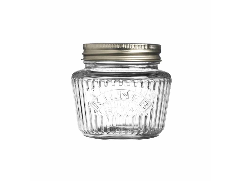Kulatá zavařovací sklenice 0,25l Vintage - Kilner