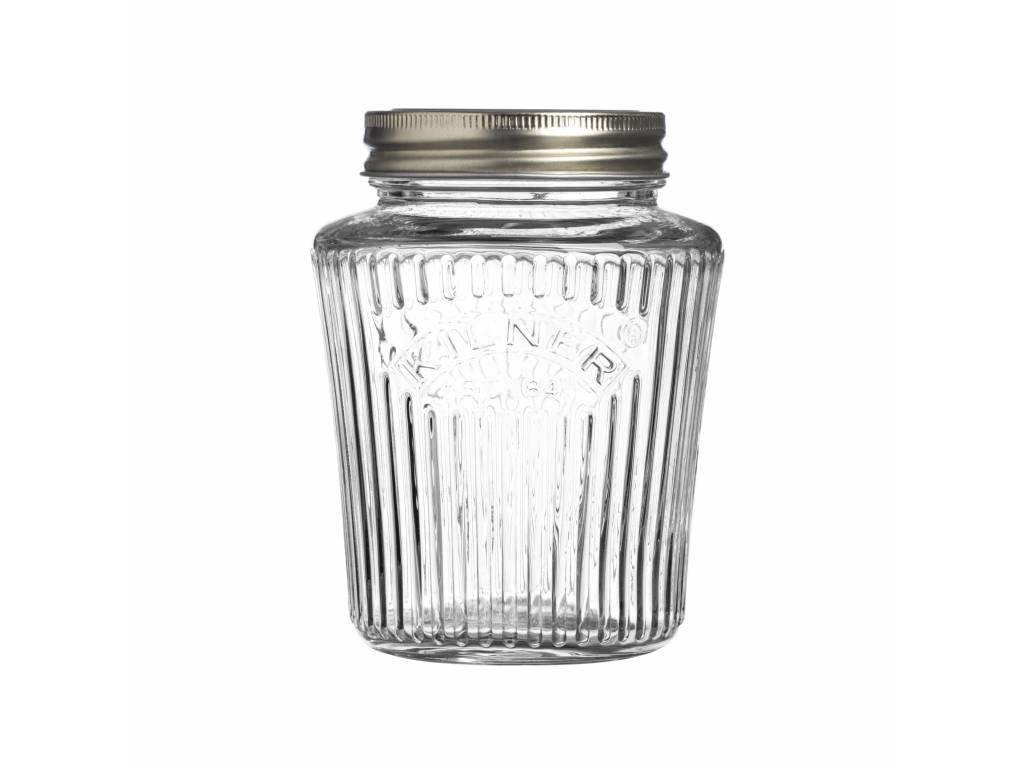 Kulatá zavařovací sklenice 0,5l Vintage - Kilner