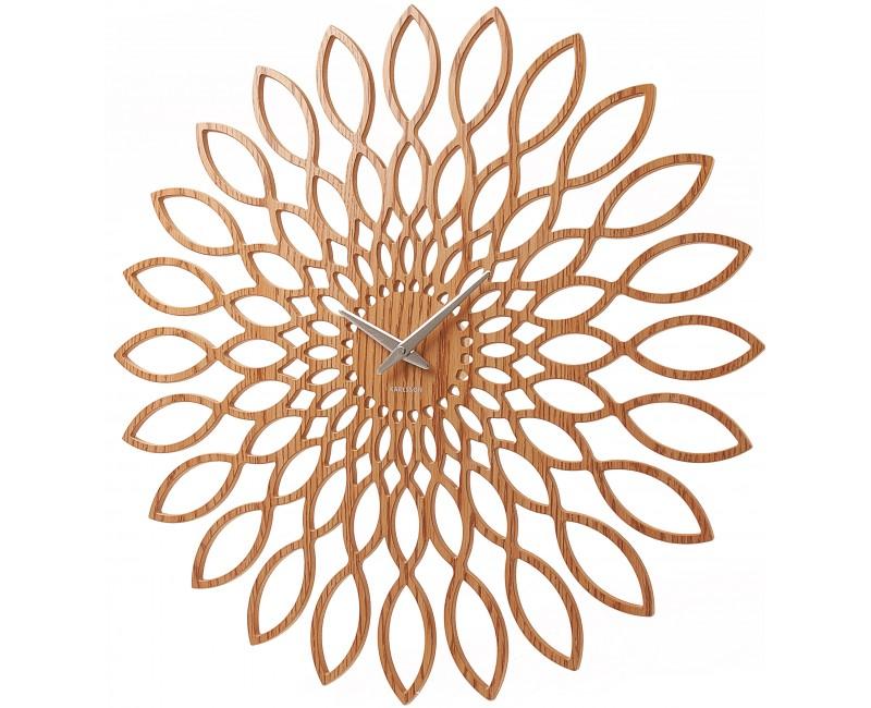 Nástěnné hodiny Infinity 60 cm dřevěné - Karlsson