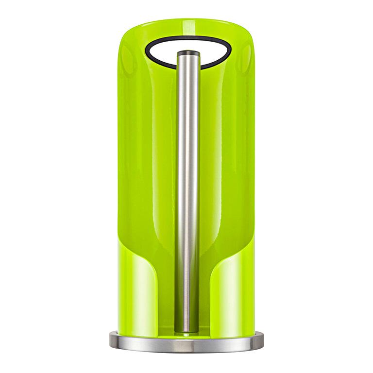 Držák na kuchyňské utěrky nebo toaletní papír zelený - Wesco