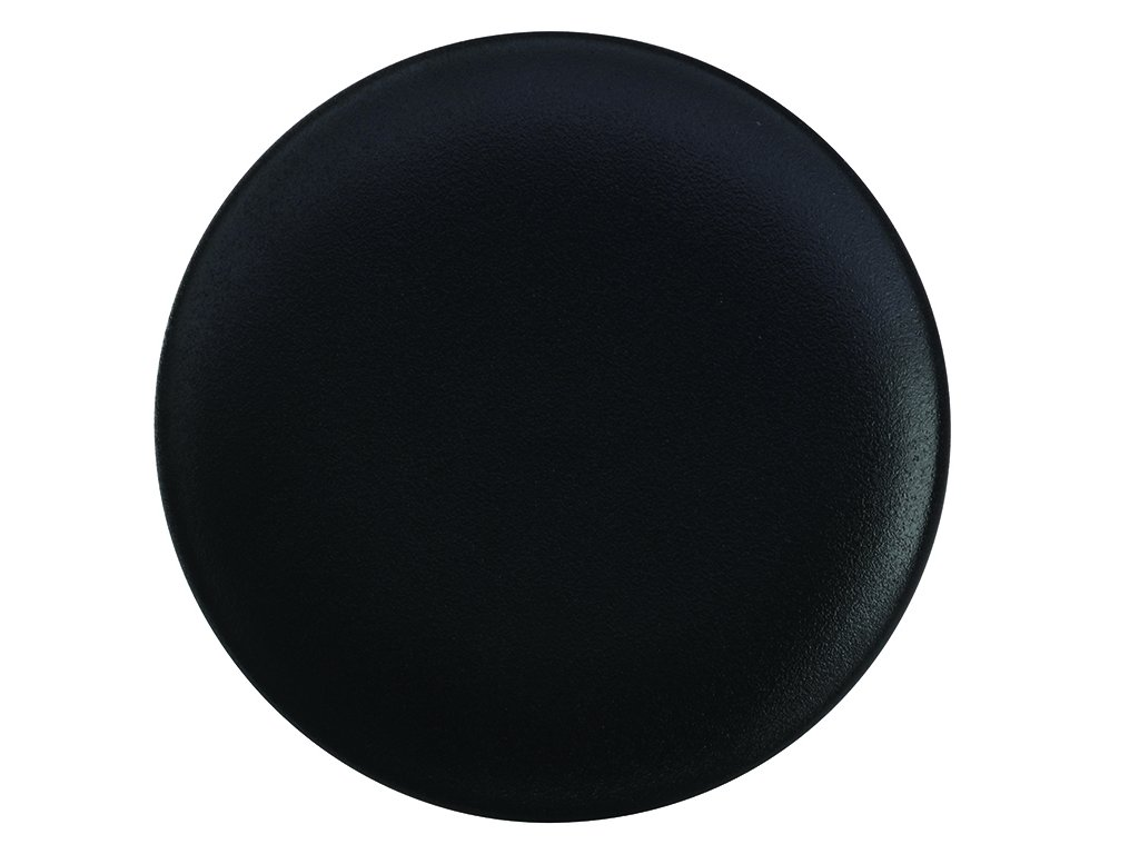 Porcelánový Dezertní talíř CAVIAR 20 cm černý - Maxwell&Williams