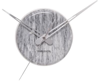 Nástěnné hodiny Mini mramor 30 cm Gray - Karlsson