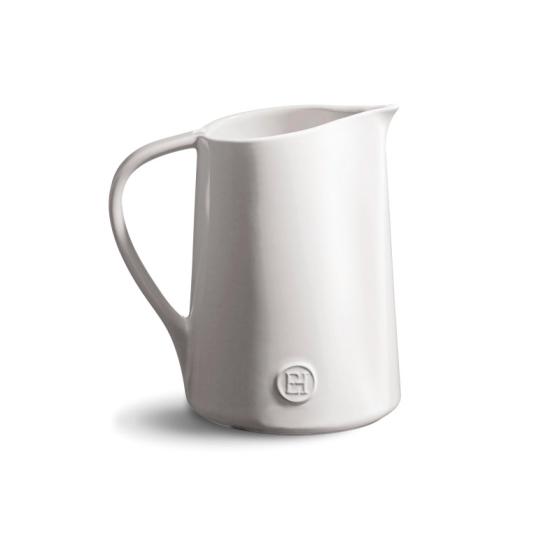 Džbán 0,9l Flour bílý nugátový - Emile Henry