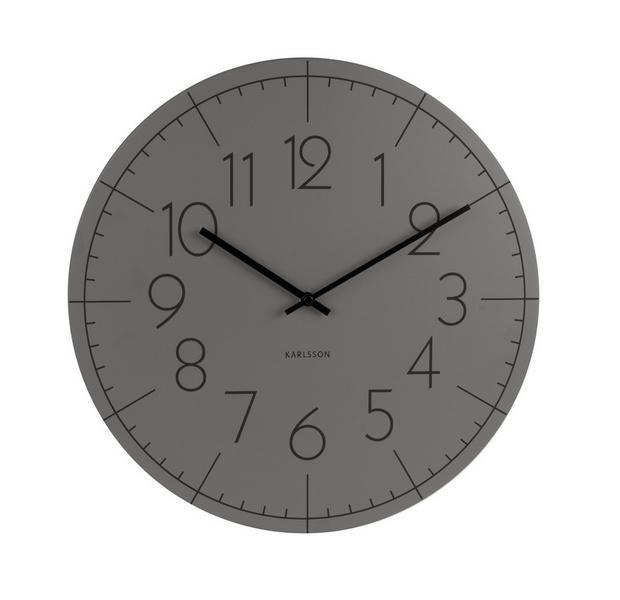 Nástěnné hodiny Lacquered 40 cm - Karlsson