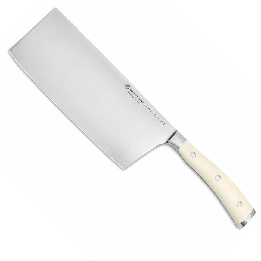 Čínský kuchařský nůž CLASSIC IKON Creme White 18 cm - Wüsthof Dreizack Solingen