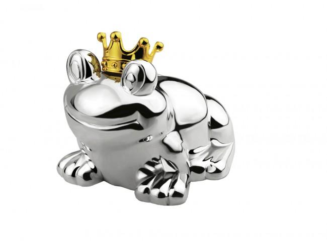 Malá pokladnička žába - Zilverstad